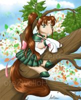 Sailor Jupiter Pony by hollowzero