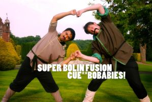 Legend of Korra Cosplay: Bobaby SUPER FUSION! by ManticoreEX