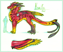 Kival'Fel Reference by Ouari