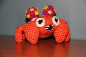 #046 Paras by pokecrochetchallenge