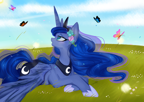 Day Dream: Luna by Chokico