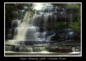 Upper Somersby Falls by FireflyPhotosAust