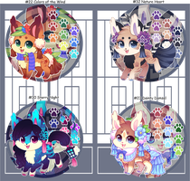 Kitsunet Adoptable Auction (SOLD) by Miizue