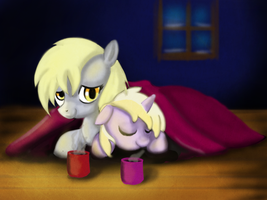 Warming Cocoa by gunslingerpen