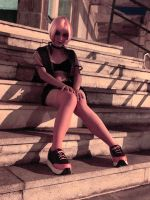 Stairs Noir by Shirak-cosplay