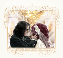 Emily+Severus-Wedding Kiss by RedPassion
