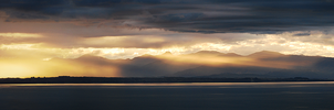 Nelson Sunset by Bunniesandsheep