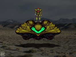 Real Life Super Metroid by Dragonfly929