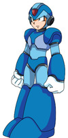 Megaman X- Idle by DLN-00X