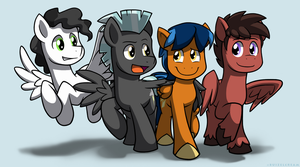 Pegasi Best Buddies by BuizelCream