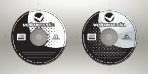 VeloxMedia - cd design by xtianares
