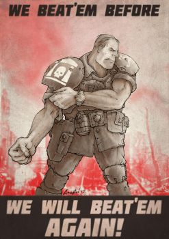 imperial guard poster by 9th-max