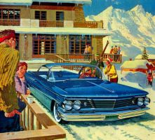 After the age of chrome and fins: 1960 Pontiac by Peterhoff3