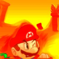 Super Mario Bros. 3 World 7 by LeTourbillonEnchanT