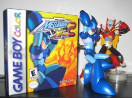 -X Cover Shoot- MegaMan Xtreme 2 (updated) by Nin10doNerd