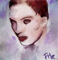 Expressionist Portrait by fmr0