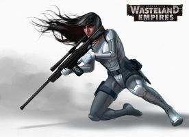Wasteland Empires: Sniper 10 by ArtofTu