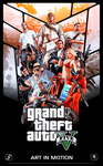 GTA V Poster - 200000 Views (Celebration) by Ferino-Design