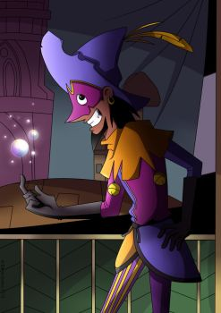 Clopin with Bubbles by sadvi
