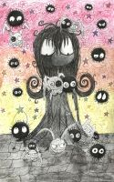 Soot Girl meets the soot sprites 2 by ScorpionsKissx