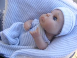 Sammy, baby boy ooak by zoux-art