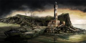 """Dear Esther"" Lighthouse by Ben-Andrews"