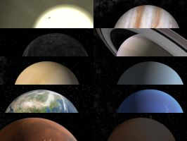 Solar System by Indref