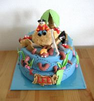 Pirate Birthday by Naera