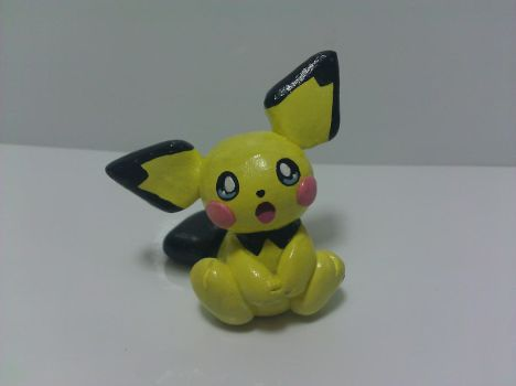 Pichu Sculpture by Sara121089