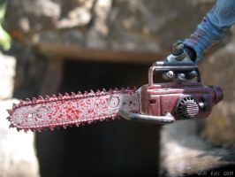 The Bloody Chainsaw of Ash by SurfTiki