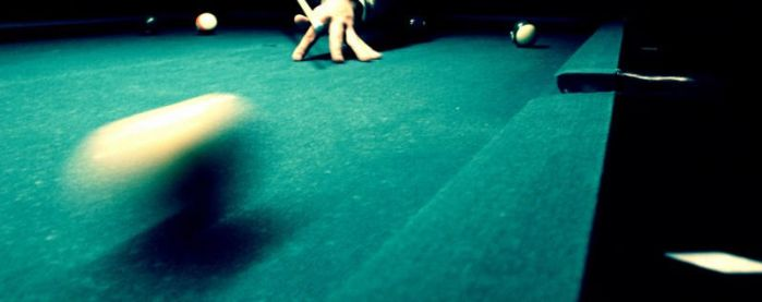 Shooting pool by Cubel