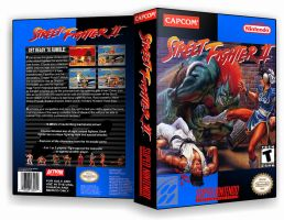 Street Fighter II Custom Cover by TuxedoMoroboshi
