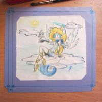 .:Gift to Dey23:..:Firefly the Light Archangel:. by Angel-Balance