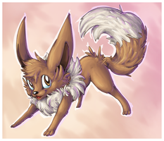 eevee by Peegeray