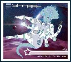 Astraal: Space Triceratops by DrProxima