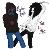 .:Jack and Jeff - Art Trade:. by PuRe-LOVE-G-S