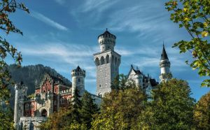 Castle Neuschwanstein II by pingallery