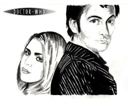 The Doctor and Rose variation by warholstein