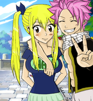 NaLu time together by Nalulover98