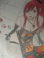 Erza by TamiiBe