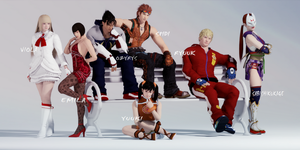 Tekken Dedication for Friends by DARKAZUYOSHI