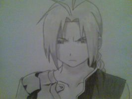 Edward Elric by Gawerath