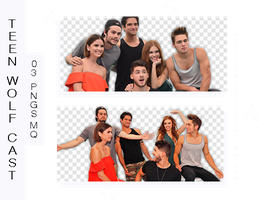 +Photopack Png Teen Wolf Cast by AHTZIRIDIRECTIONER