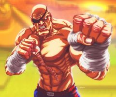 Sagat by EddieHolly