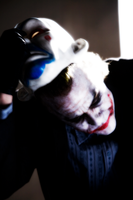 Colour ENH - Unmasked Clown by mrbrownie