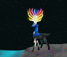 Xerneas by MochiFries