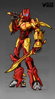 Tahu 2015 Bionicle by Kanoro-Studio