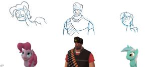 Gmod to sketch Practice 2 by rkp102