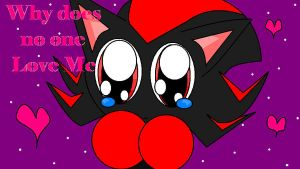 Shadow Chao Love Me by MaystheKiller