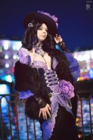 Night City Lady by Rei-Doll